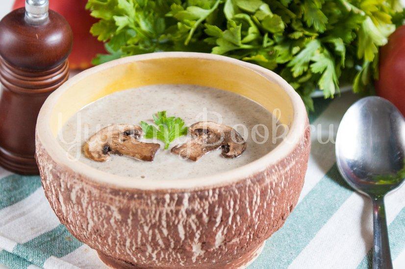 Суп-пюре с шампиньонами - шаг 6