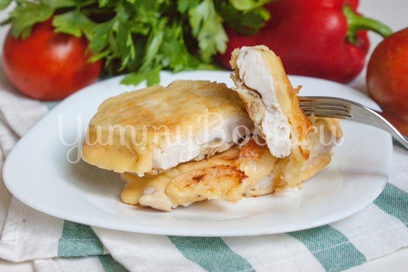Куриное филе в кляре - шаг 7