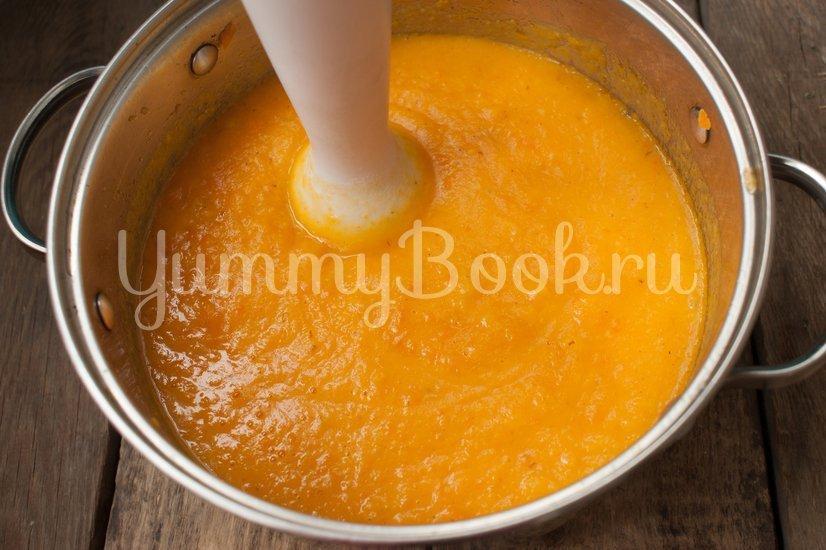 Суп-пюре из тыквы с сыром - шаг 4