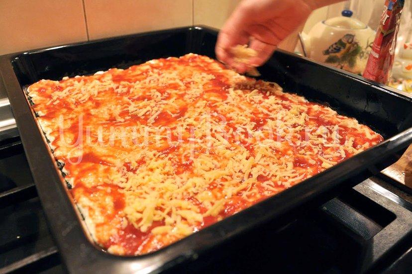 Пицца домашняя - шаг 9