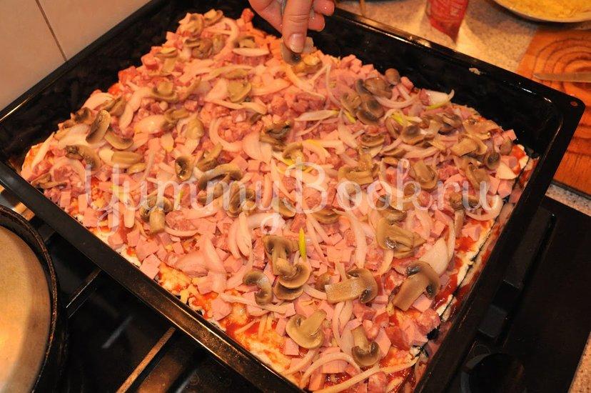 Пицца домашняя - шаг 11