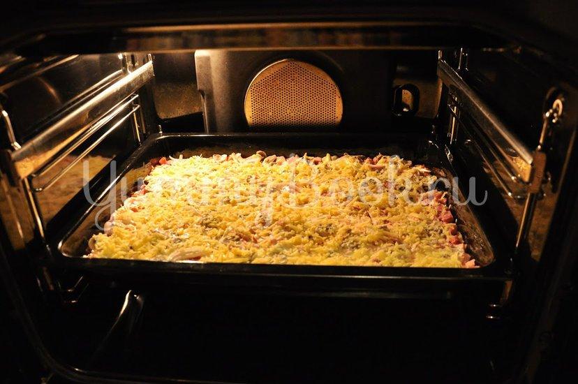 Пицца домашняя - шаг 15