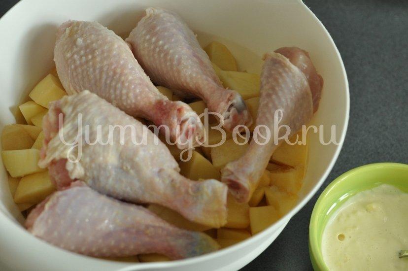 Куриные ножки запеченные с картофелем в рукаве - шаг 5