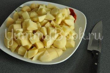 Куриные ножки запеченные с картофелем в рукаве - шаг 4