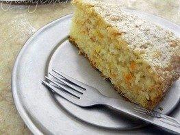 Морковный пирог с имбирем
