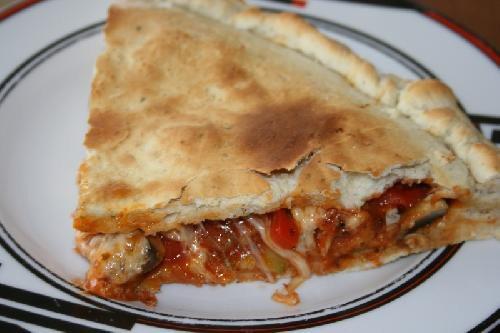 Закрытая пицца Кальцоне - шаг 14