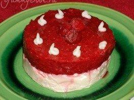 Ванильный Чизкейк-Лайт с ягодой