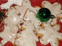 Рождественское пряничное печенье