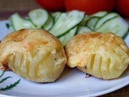 Печеный картофель Гассель
