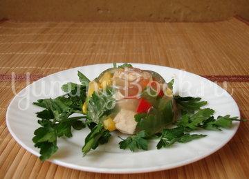 Заливное Яйца, пошаговый рецепт с фото