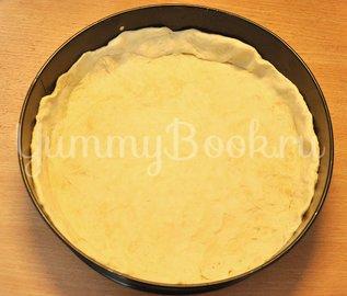 Пирог с ветчиной, курицей и луком - шаг 8