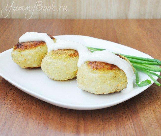 Зразы картофельные с грибами и луком - шаг 7