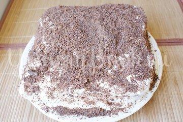Ореховый торт без муки - шаг 13