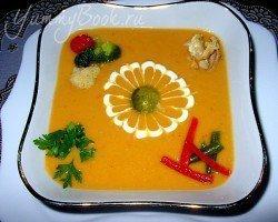 Овощной крем-суп с курицей - шаг 1