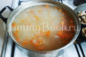 Сырный суп с грибами - шаг 4