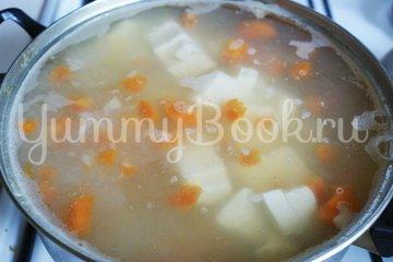 Сырный суп с грибами - шаг 6