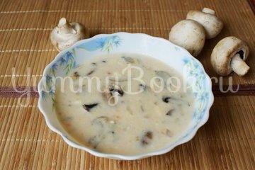 Сырный суп с грибами - шаг 9