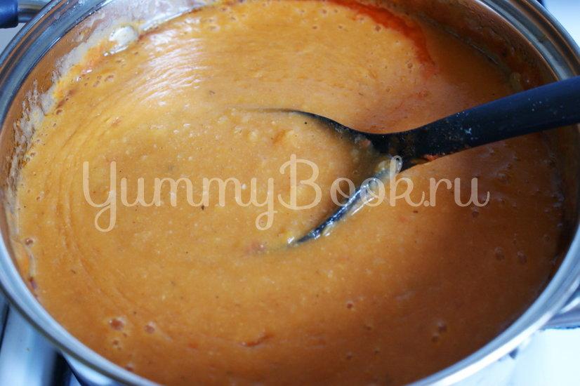 Томатный суп-пюре с фасолью и рисом - шаг 6
