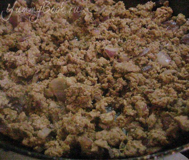 Картофельная запеканка с грибами и фаршем - шаг 3