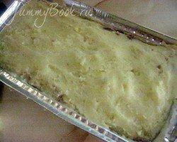 Картофельная запеканка с грибами и фаршем - шаг 8
