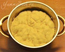 Дрожжевой пирог с капустой - шаг 11