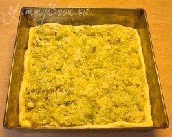Дрожжевой пирог с капустой - шаг 13