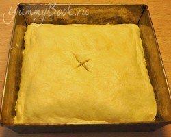 Дрожжевой пирог с капустой - шаг 14
