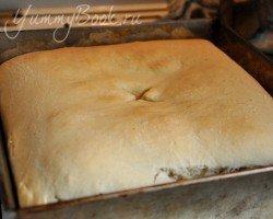 Дрожжевой пирог с капустой - шаг 15