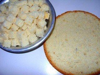 Фруктово-бисквитный торт - шаг 6