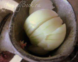 Котлеты из печени с капустой - шаг 3