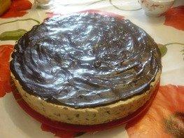Твороженный торт с черносливом
