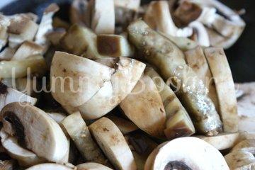 Баклажанно-грибной салат - шаг 7