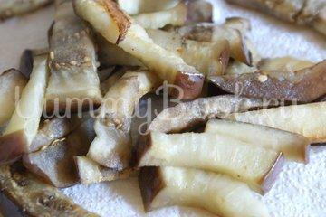 Баклажанно-грибной салат - шаг 6