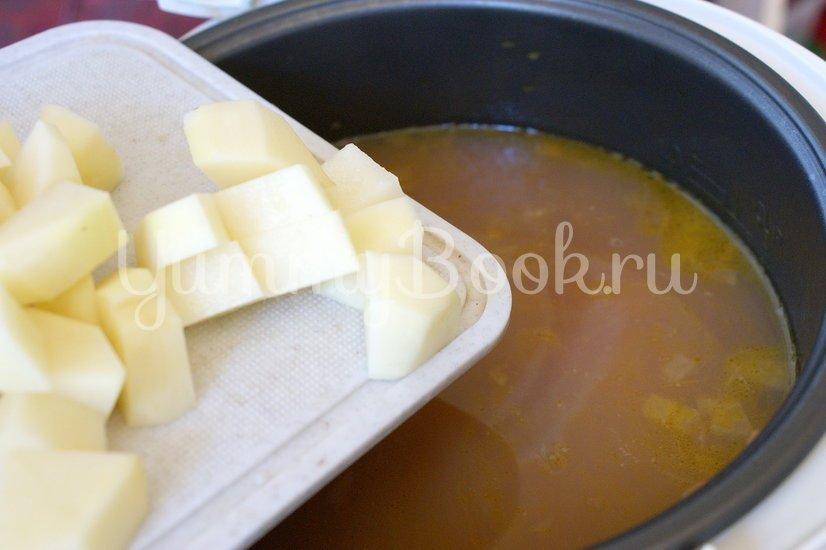 Фасолевый суп в мультиварке - шаг 4