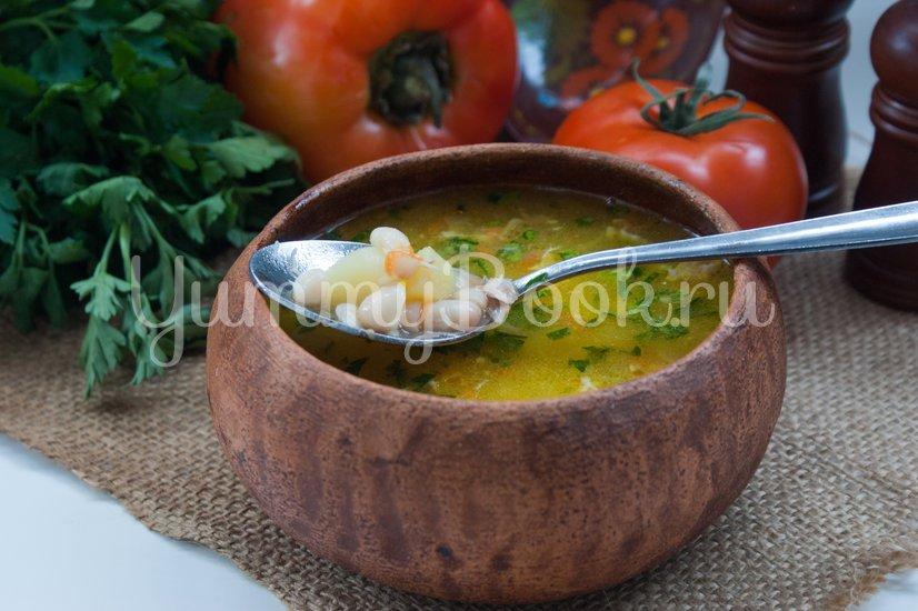 Фасолевый суп в мультиварке - шаг 5