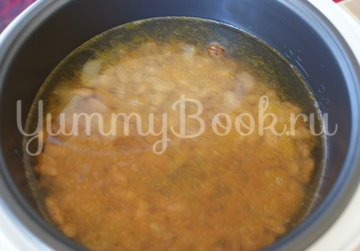 Фасолевый суп в мультиварке - шаг 3