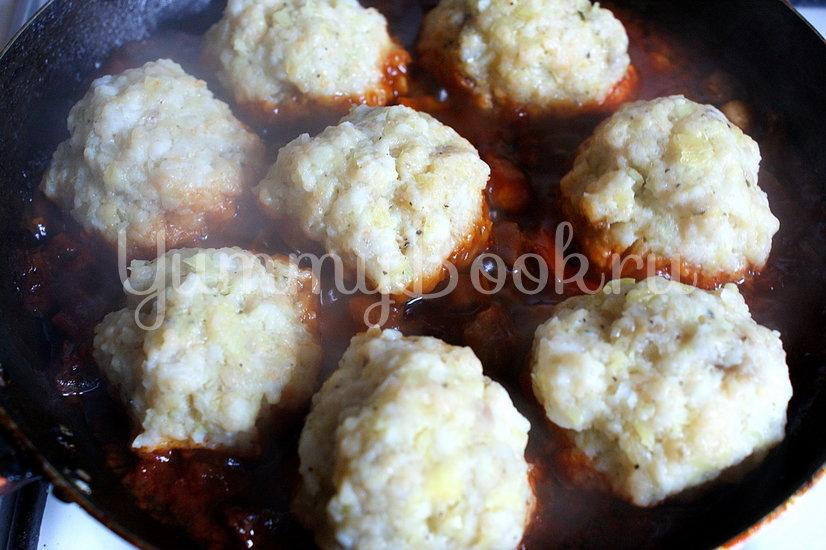 Рыбные тефтели с грибным соусом - шаг 6
