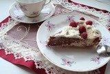 Трехцветный творожный пирог