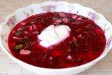 Холодник по-белорусски (Свекольник)