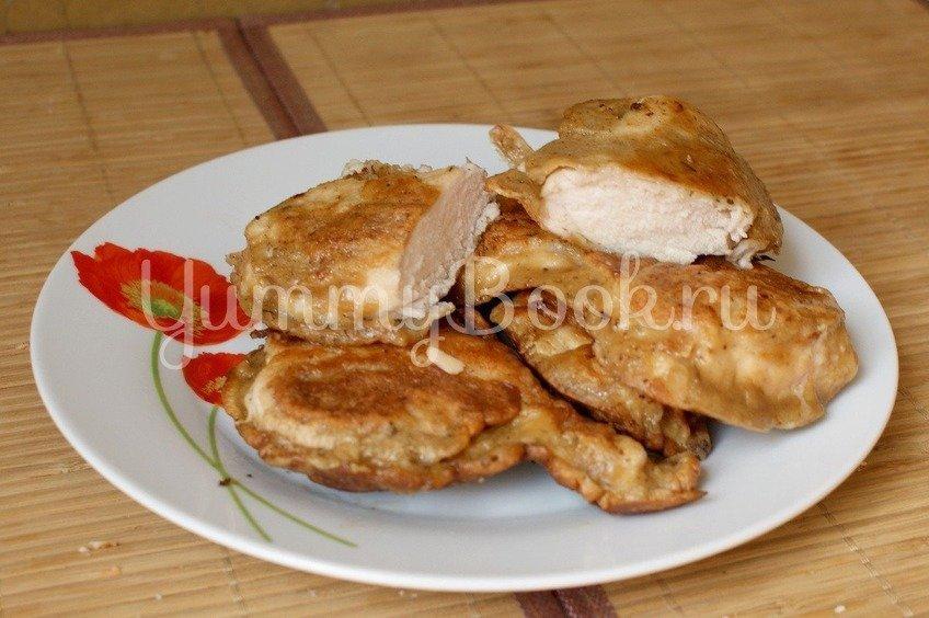 Куриное филе в соевом кляре