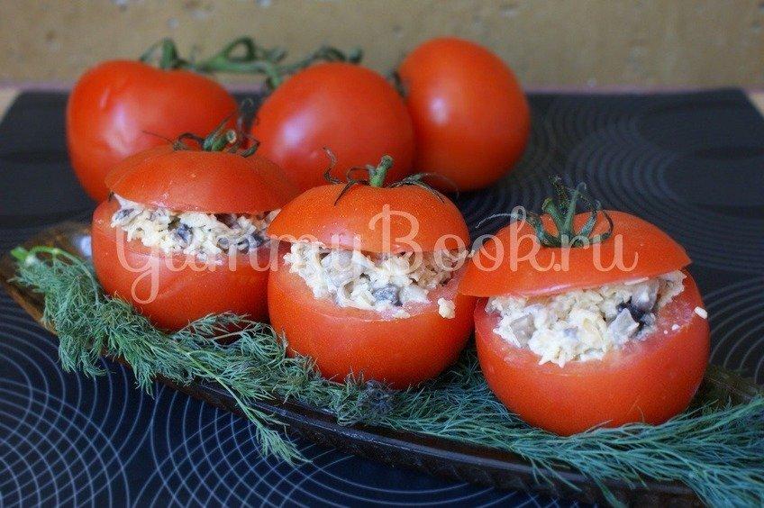 Салат в помидоре