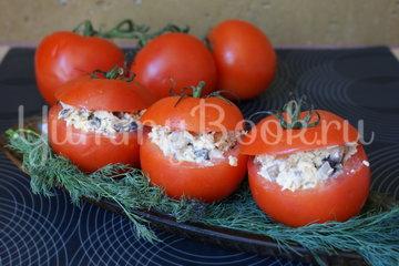 Салат в помидоре - шаг 6