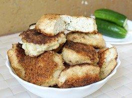 Крабовые котлеты с сыром, зеленью и чесноком, пошаговый рецепт с фото