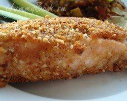 Рыба в миндальной панировке - шаг 4