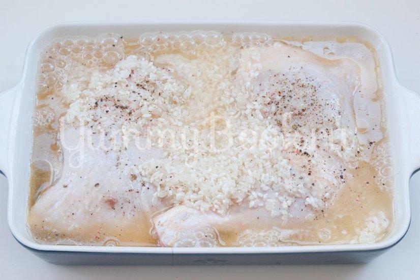 Куриные окорочка с рисом в пиве - шаг 4
