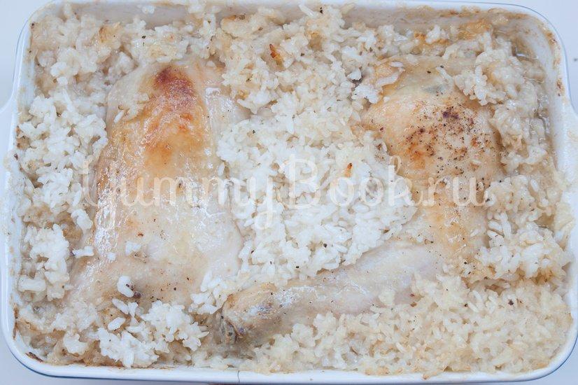 Куриные окорочка с рисом в пиве - шаг 5