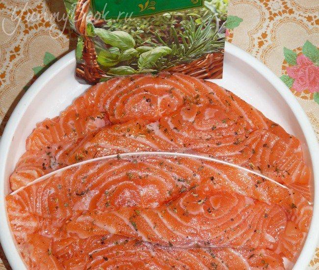 Апельсиновая рыба с чесноком - шаг 2
