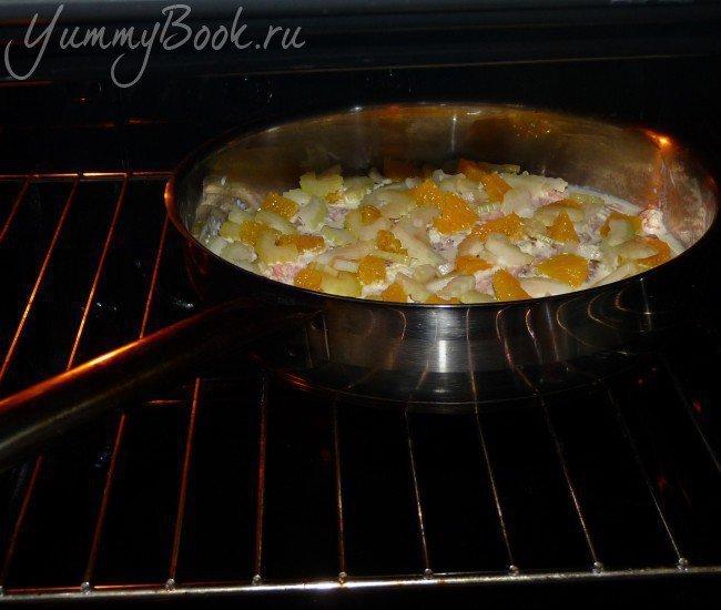 Апельсиновая рыба с чесноком - шаг 9