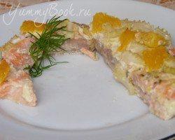Апельсиновая рыба с чесноком - шаг 10