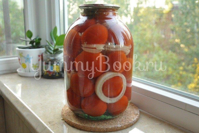 """Консервированные помидоры """"Пальчики оближешь"""""""